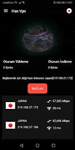 Download HanVPN - Sınırsız VPN Erişimi For PC Windows and Mac apk screenshot 3