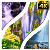 Wallpapers Waterfall 4K UHD