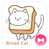 Cute Wallpaper Bread Cat Theme