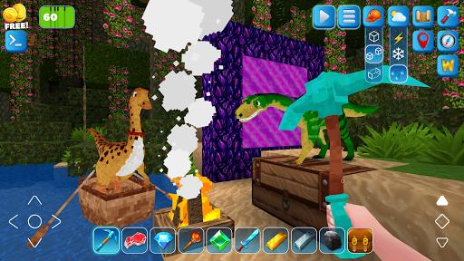 RaptorCraft 3D: Survival Craft u25ba Dangerous Worlds 5.0.4 screenshots 7