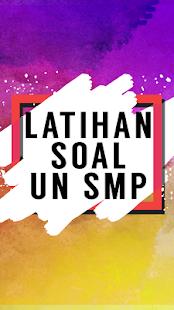 Latihan Soal UN SMP - náhled