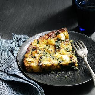 Cauliflower & Kale Frittata.