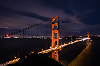 Photo: I'm stuck on you San Francisco, CA. 2013.  This is not the same image I posted a few days ago again, its the same bridge but this time shot in a single frame wit the 10-24mm. The image is nice,but I'm not preferring making these sort of landscape shots with stitched portrait frames with fast prime lenses, its just sharper.  Anyways, you can compare and make up your own mind (the other shot:http://goo.gl/X3aDK  Life is happening at internet speed nowadays, one work day is blurring into the next, Google gets like this as we get near the Google IO (about 14 weeks aways now) -- Really excited to be working on software that now millions of people use.