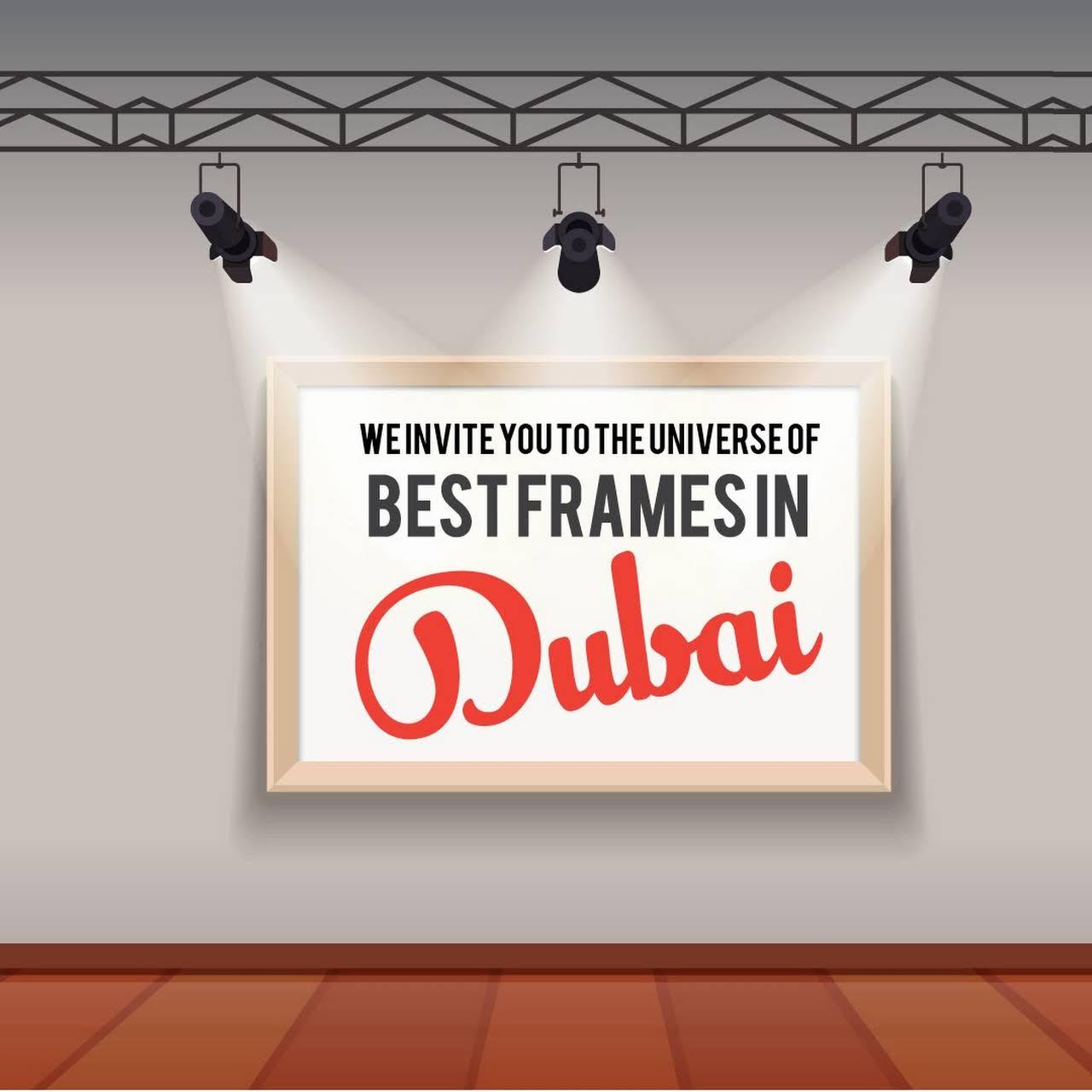 Frames in Dubai | Framing Dubai | Canvas printing Dubai - Pickframes ...