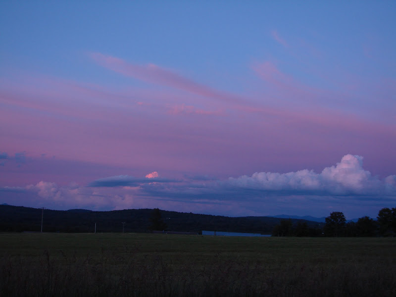 Photo: Sunset comes to Lake Carmi State Park, by Sara Hayes