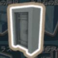 スチールのドア
