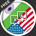 Translate English Hindi pop up icon