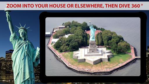 Live Earth Map - Satellite View, World Map 3D 1.3 screenshots 1