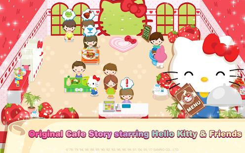 Hello kitty dream cafe apps on google play screenshot image voltagebd Gallery