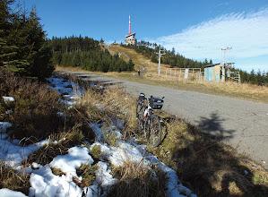 Photo: (1.11. 2014) Jak je vidět, nedávno docela regulérně na Lysé padal sníh