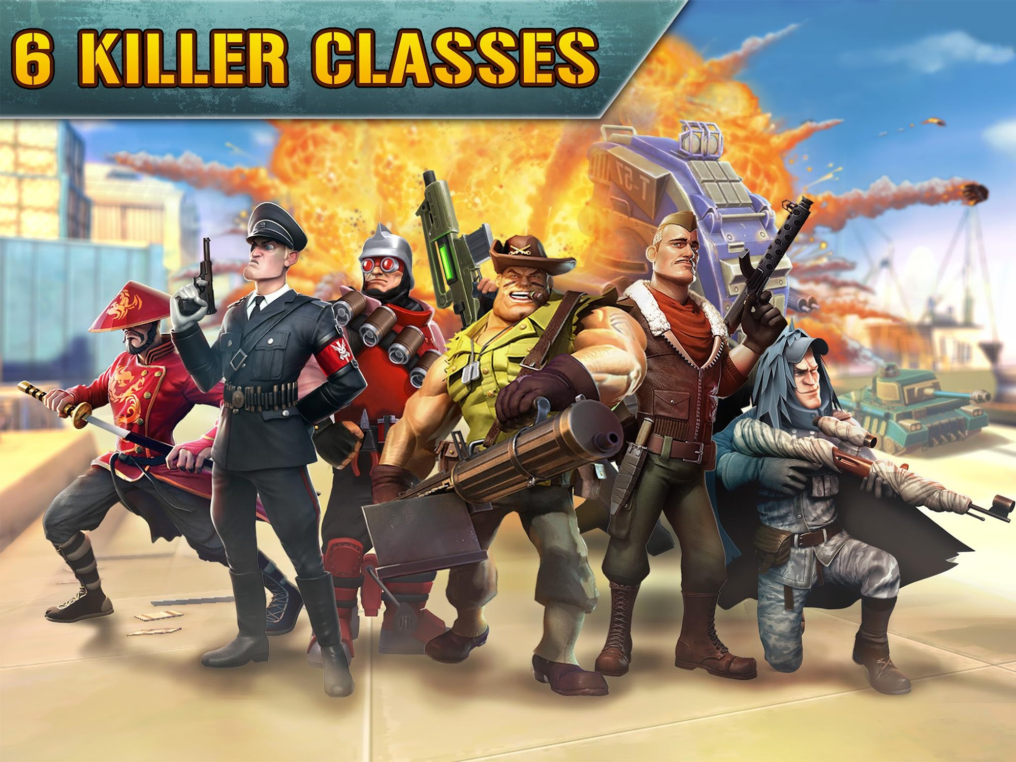 Blitz Brigade - Online FPS fun screenshot #5