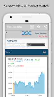 Download Bse India Live For PC Windows and Mac apk screenshot 2