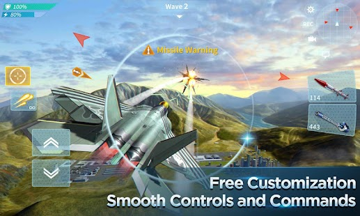 Modern Air Combat: Team Match Screenshot