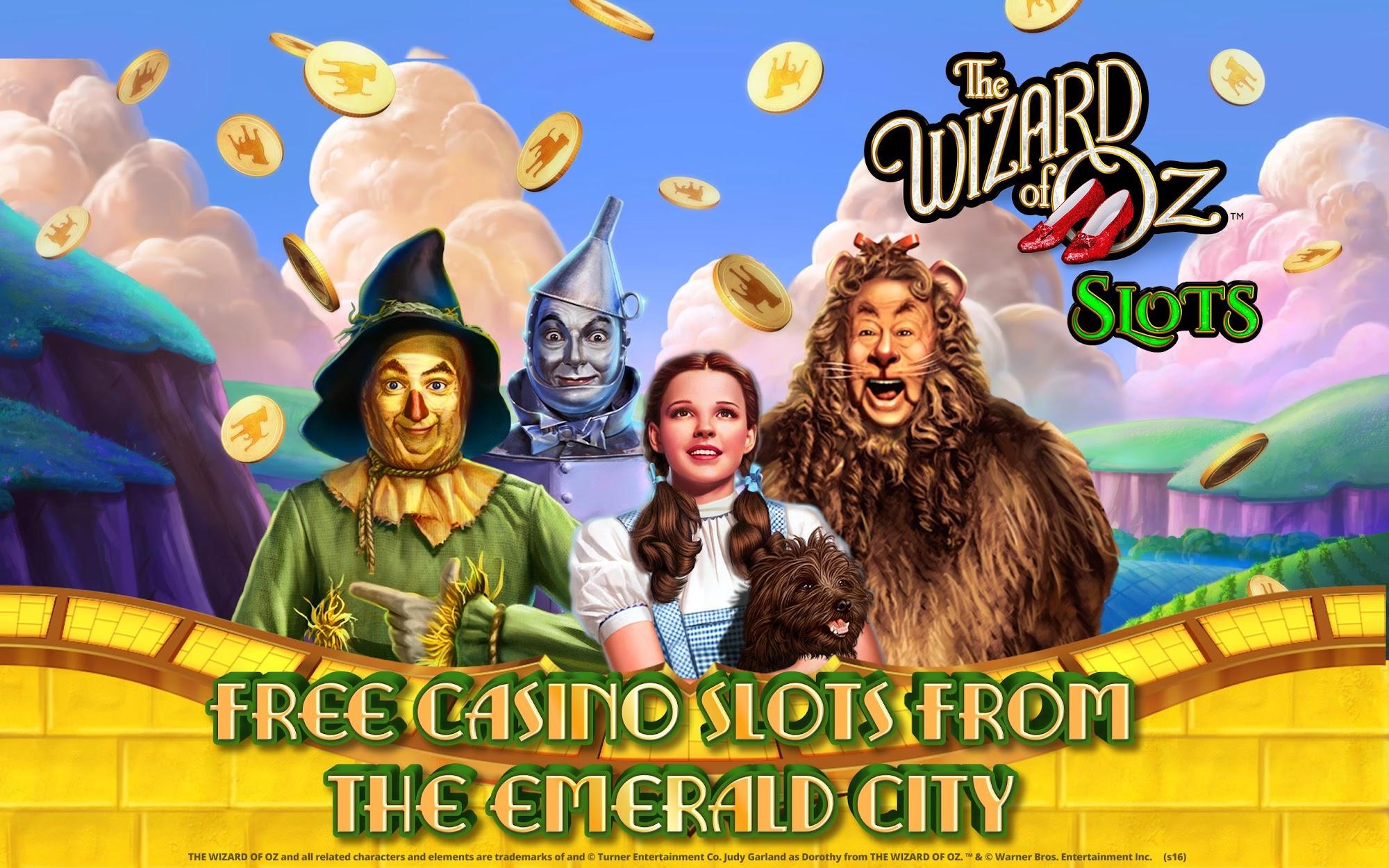 Wizard of Oz Free Slots Casino screenshot #10