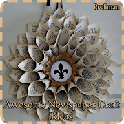 Awesome Newspaper Craft Ideas icon