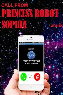 Call From Robot Sophia - náhled