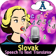 Slovak Speech To Text Translator Download for PC Windows 10/8/7