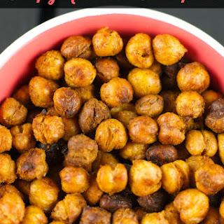 Roasted Crispy Chickpeas.