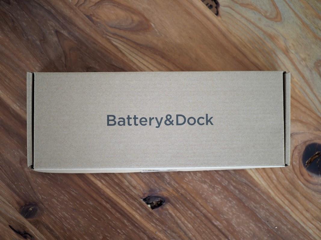 バルミューダグリーンファンのバッテリー&ドック