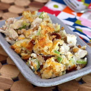 Classic Hot Chicken Salad.