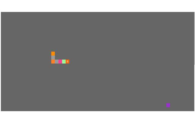 Simple pixel greedy snake