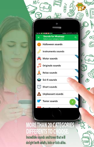 Sounds for Whatsapp - The Best Ringtones 2.0.0.7 screenshots 8