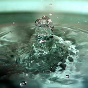 Splash by Atreyee Sengupta - Abstract Water Drops & Splashes