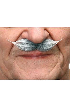 Mustasch Gentleman, grå