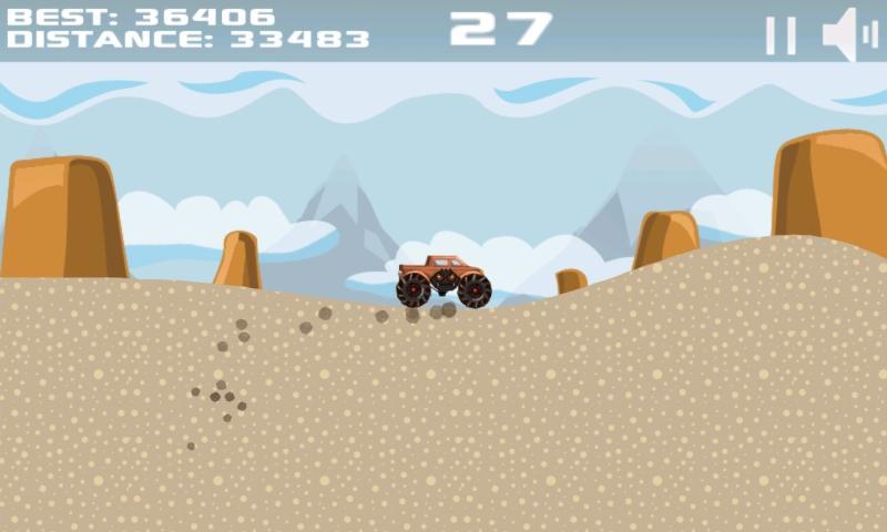 Скриншот Mountain Offroad Racing
