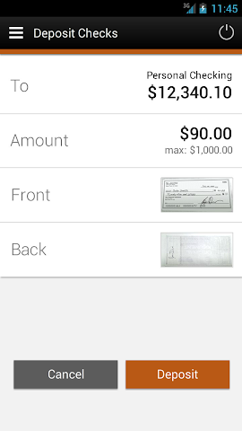 android Elevations Credit Union Mobile Screenshot 3