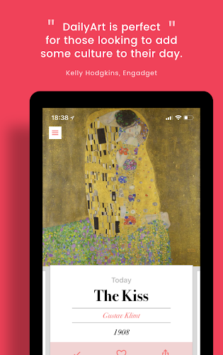 DailyArt - Your Daily Dose of Art History Stories Android App Screenshot