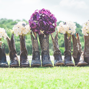 Country Boots by Jennifer Mize - Wedding Details ( cowboy, cowboy boots, oklahoma, country wedding, wedding, country )