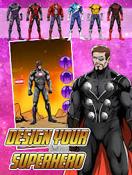Create your Own Avenger Infinity Wars Hero APK screenshot thumbnail 2