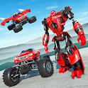 Flying Robot Monster Truck Battle 2019 icon