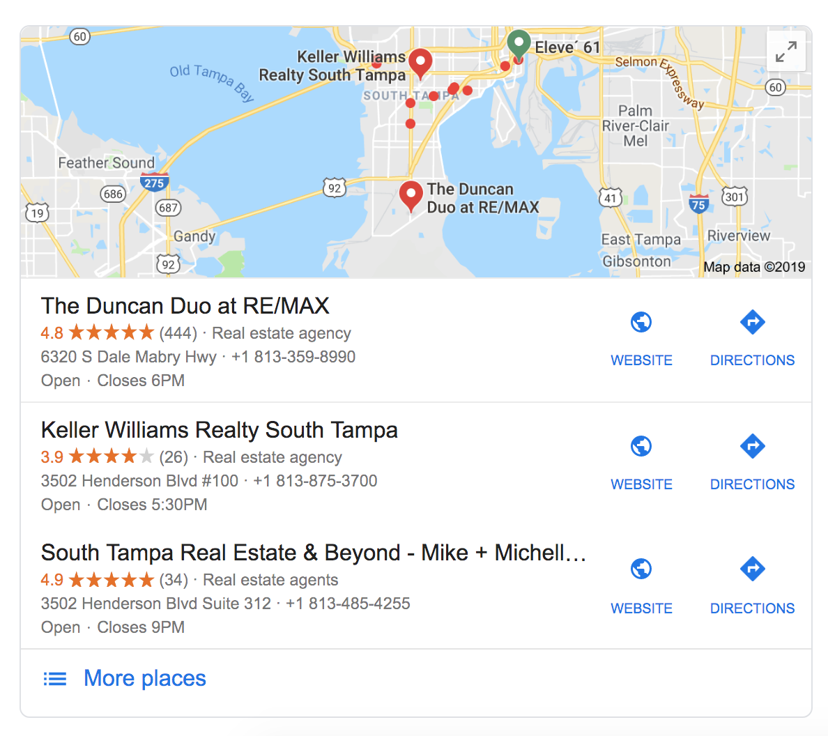 Google 3-Pack for Real Estate   Marketing Strategies for Real Estate Agents