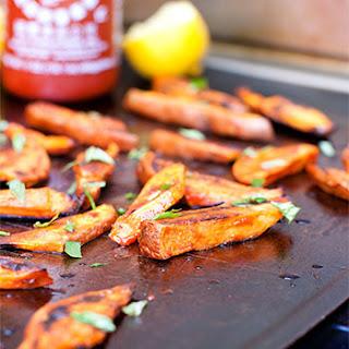 Sriracha Sweet Potato Fries.