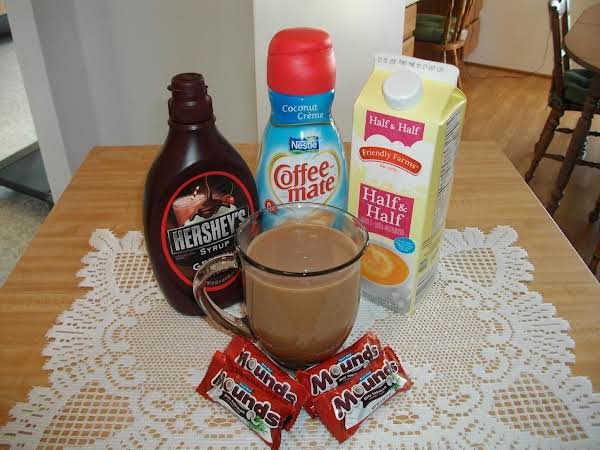 Chocolate Coconut Coffee
