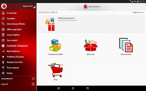My Vodafone- screenshot thumbnail