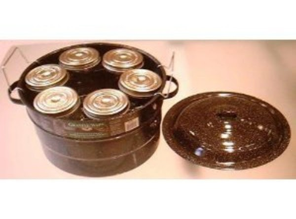 Sterlize enough jars and lids to hold relish (12 one-pint or 6 quart size....