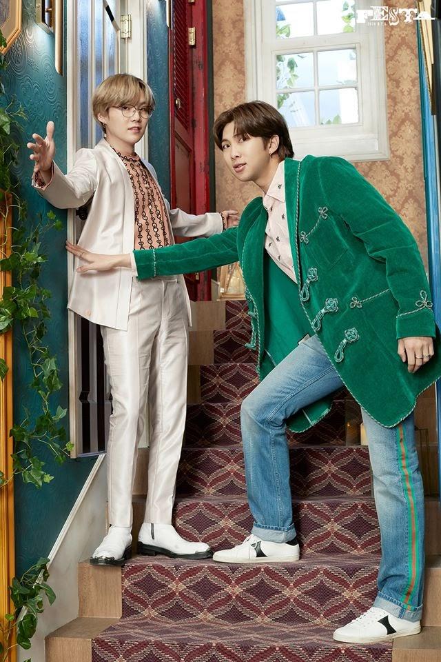 BTS hd photos Suga and RM
