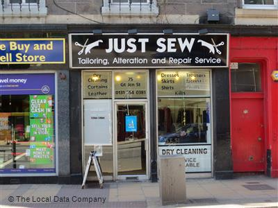Just Sew on Great Junction Street - Tailors in Firth of Forth