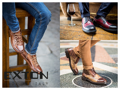 TOMAcalzature.com - shoes men Made in Italy Exton