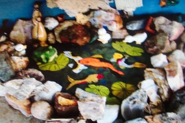 My Patio Painted Koi Pond Recipe