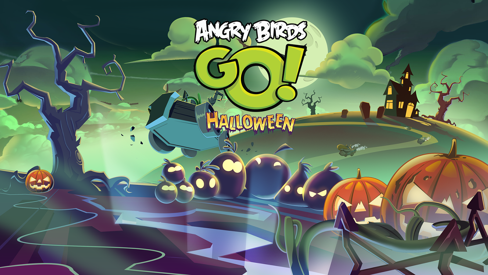Angry Birds Go!- screenshot