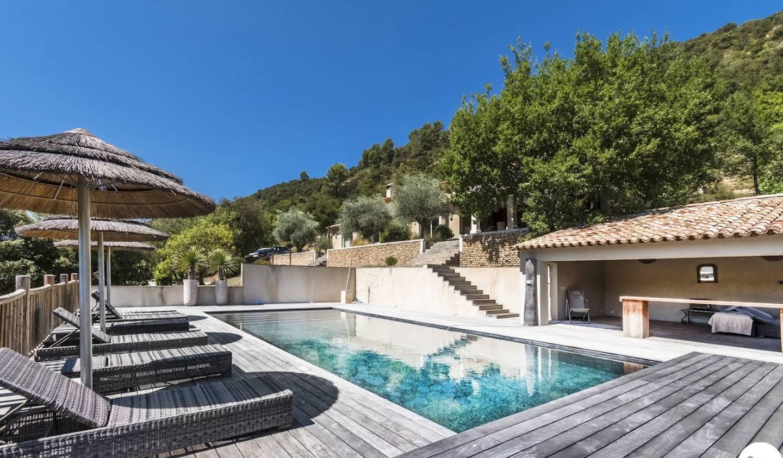 Villa avec piscine et terrasse Allemagne-en-Provence