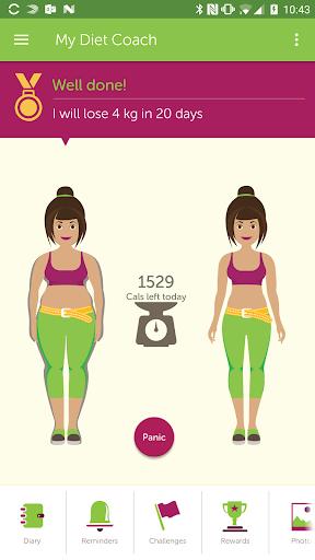 My Diet Coach - Weight Loss Motivation & Tracker Screenshot