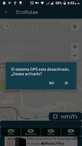 ECORUTAS screenshot 1