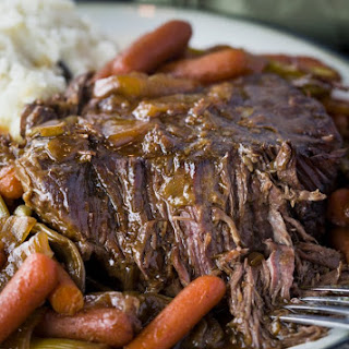 Crock Pot Mississippi Pot Roast.