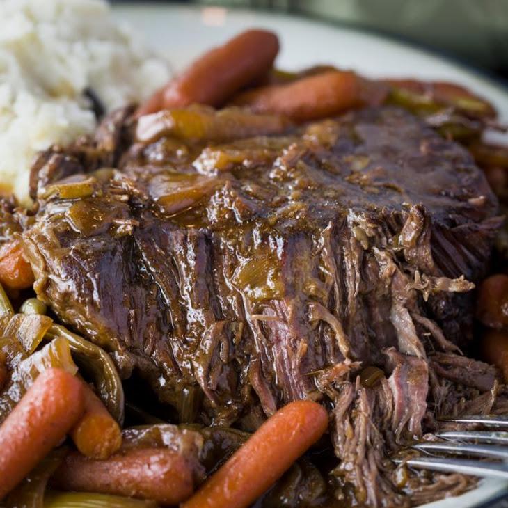 Crock Pot Mississippi Pot Roast Recipe