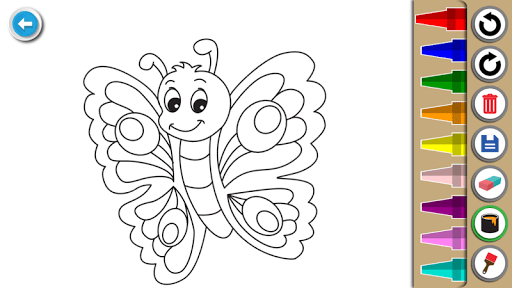 Kids Coloring Book : Cute Animals Coloring Pages filehippodl screenshot 11